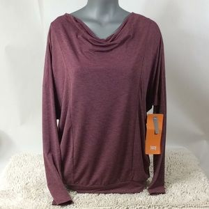 Lucy To The Bare Long Sleeve T Shirt Women's Wine
